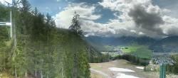 Archiv Foto Webcam Wettersteinbahn: Bergstation 3er Sessellift 10:00