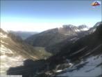 Archiv Foto Webcam Sulden: Bergstation Suldenbahn 02:00