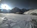 Archiv Foto Webcam Skigebiet Sulden: Madritschhütte 08:00