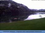 Archiv Foto Webcam Blick Hintersee 06:00
