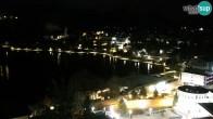 Archiv Foto Webcam Bled: Blick auf See und Burg 23:00