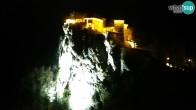 Archiv Foto Webcam Bled: Blick auf See und Burg 01:00