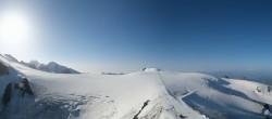 Archiv Foto Webcam Zermatt Kleinmatterhorn - Gletscherskigebiet 02:00