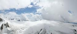 Archiv Foto Webcam Zermatt Kleinmatterhorn - Gletscherskigebiet 06:00