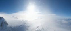 Archiv Foto Webcam Zermatt Kleinmatterhorn - Gletscherskigebiet 10:00