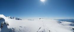 Archiv Foto Webcam Zermatt Kleinmatterhorn - Gletscherskigebiet 12:00