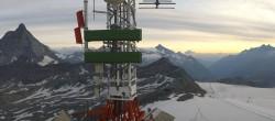 Archiv Foto Webcam Plateau Rosa Zermatt / Breuil Cervinia 00:00