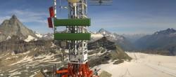 Archiv Foto Webcam Plateau Rosa Zermatt / Breuil Cervinia 04:00