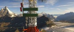 Archiv Foto Webcam Plateau Rosa Zermatt / Breuil Cervinia 07:00