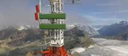 Archiv Foto Webcam Plateau Rosa Zermatt / Breuil Cervinia 09:00
