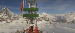 Archiv Foto Webcam Plateau Rosa Zermatt / Breuil Cervinia 06:00