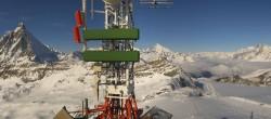 Archiv Foto Webcam Plateau Rosa Zermatt / Breuil Cervinia 08:00