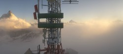 Archived image Webcam Plateau Rosa Zermatt / Breuil Cervinia 00:00