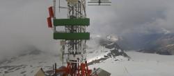 Archived image Webcam Plateau Rosa Zermatt / Breuil Cervinia 08:00