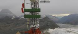 Archiv Foto Webcam Plateau Rosa Zermatt / Breuil Cervinia 02:00