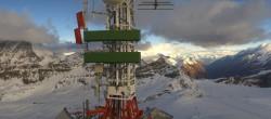 Archiv Foto Webcam Plateau Rosa Zermatt / Breuil Cervinia 03:00