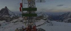 Archiv Foto Webcam Plateau Rosa Zermatt / Breuil Cervinia 12:00