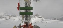 Archiv Foto Webcam Zermatt / Breuil Cervinia: Plateau Rosa 06:00
