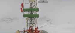 Archiv Foto Webcam Zermatt / Breuil Cervinia: Plateau Rosa 08:00