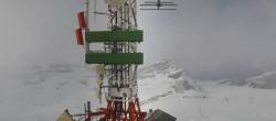 Archiv Foto Webcam Zermatt / Breuil Cervinia: Plateau Rosa 10:00