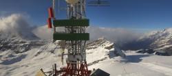 Archiv Foto Webcam Zermatt / Breuil Cervinia: Plateau Rosa 12:00