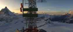 Archiv Foto Webcam Zermatt / Breuil Cervinia: Plateau Rosa 14:00