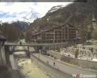Archiv Foto Webcam Kirchbrücke Zermatt 12:00