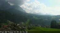 Archiv Foto Webcam Plan da Tieja 10:00