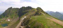 Archiv Foto Webcam Panorama Bahn in Silvretta Montafon 11:00
