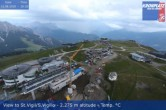 Archiv Foto Webcam Blick vom Gipfel des Kronplatz nach St. Vigil 14:00