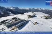 Archiv Foto Webcam Blick vom Gipfel des Kronplatz nach St. Vigil 02:00