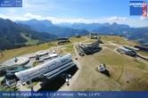 Archiv Foto Webcam Blick vom Gipfel des Kronplatz nach St. Vigil 06:00