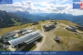 Archiv Foto Webcam Blick vom Gipfel des Kronplatz nach St. Vigil 08:00