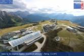 Archiv Foto Webcam Blick vom Gipfel des Kronplatz nach St. Vigil 10:00