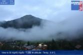 Archiv Foto Webcam St. Vigil am Kronplatz - Weltcupstrecke 22:00