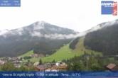 Archiv Foto Webcam St. Vigil am Kronplatz - Weltcupstrecke 08:00
