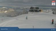 Archiv Foto Webcam Jochbahn Bergstation Brixen im Thale 08:00