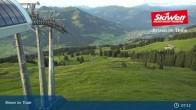 Archiv Foto Webcam Jochbahn Bergstation Brixen im Thale 01:00