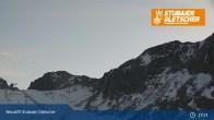 Archiv Foto Webcam Stubaier Gletscher: Bergstation Eisgrat 23:00