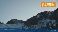 Archiv Foto Webcam Stubaier Gletscher: Bergstation Eisgrat 13:00