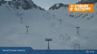 Archiv Foto Webcam Stubaier Gletscher: Bergstation Eisgrat 07:00