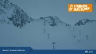 Archiv Foto Webcam Stubaier Gletscher: Bergstation Eisgrat 02:00