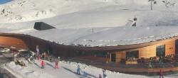 Archiv Foto Webcam Blick auf Top Mountain Crosspoint am Timmelsjoch 08:00