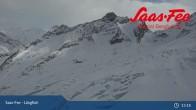 Archiv Foto Webcam Saas-Fee: Bergstation Längfluhbahn 07:00