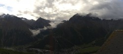 Archived image Webcam Saas-Fee: Hannig Mountain 04:00