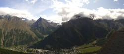 Archived image Webcam Saas-Fee: Hannig Mountain 06:00
