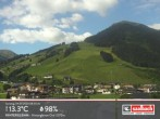 Archived image Webcam Hinterglemm Mountain Village 02:00
