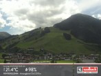 Archived image Webcam Hinterglemm Mountain Village 08:00