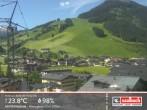 Archived image Webcam Hinterglemm Mountain Village 04:00