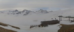 Archiv Foto Webcam Santa Caterina Valfurva: Panoramablick Skigebiet 02:00